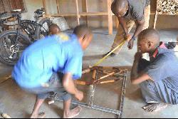 Meet Ugandan entrepreneur peddling bamboo bikes