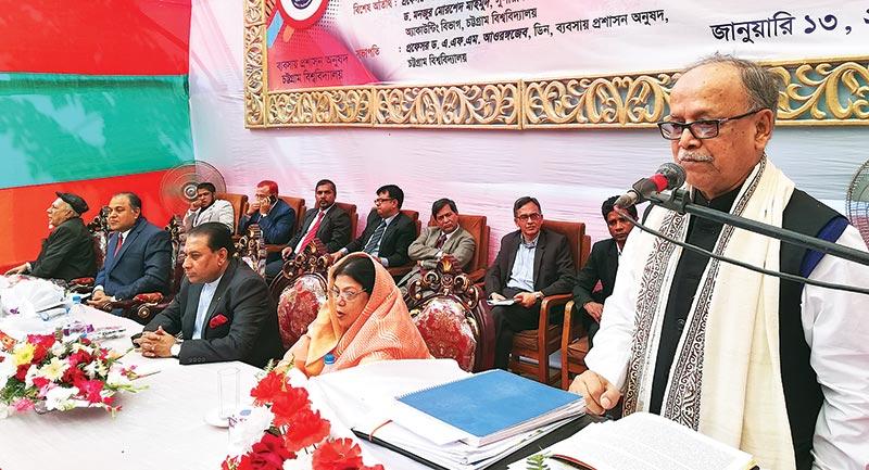 UGC Chairman: Int'l standard BBA @ CU