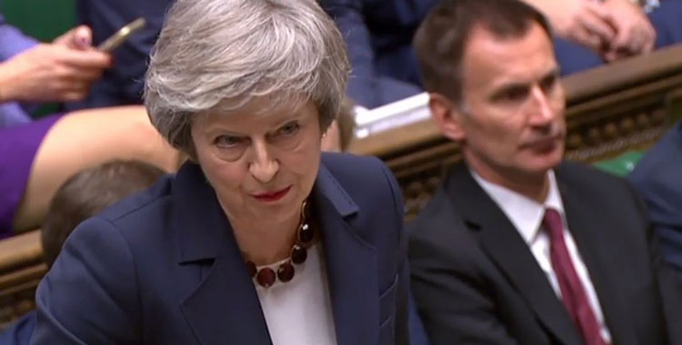 Parliament sinks PM Theresa May's Brexit deal