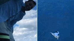 Man jumps off 11th floor of ship for insta video