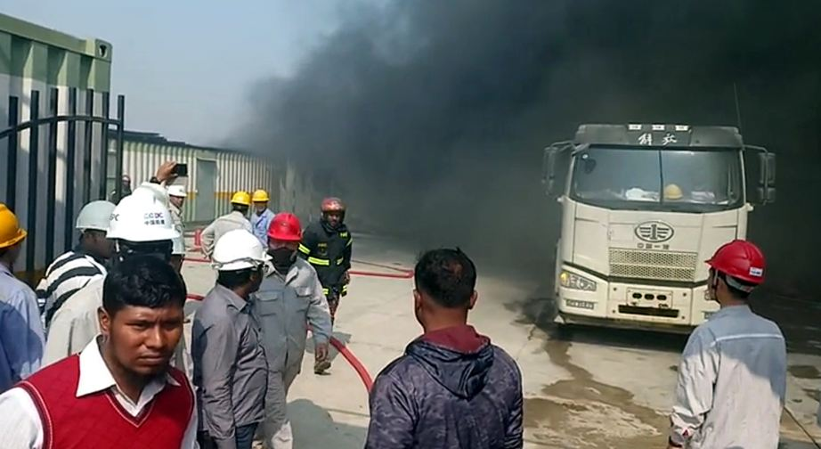 Fire at Payra under-construction thermal power plant