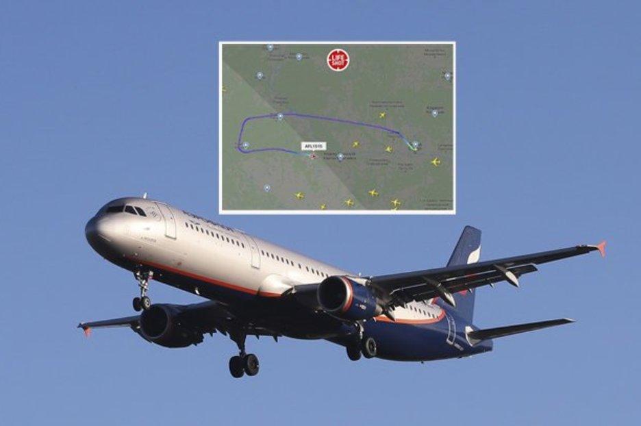 Russian plane emergency lands after passenger demands diversion