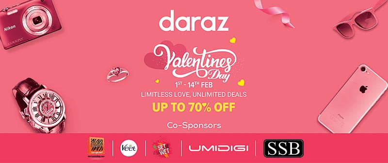 Daraz celebrating Valentine's campaign for fourth time