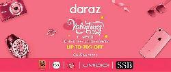 <Daraz celebrating Valentine's campaign for fourth time