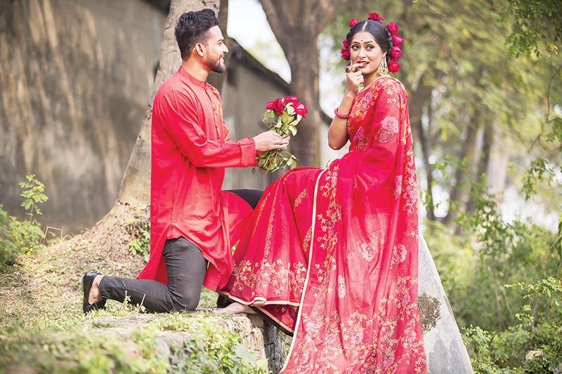 Falgun , Valentine's Day collections in Rang Bangladesh