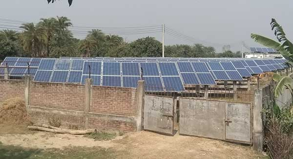 Solar power project being ineffective in Rajshahi