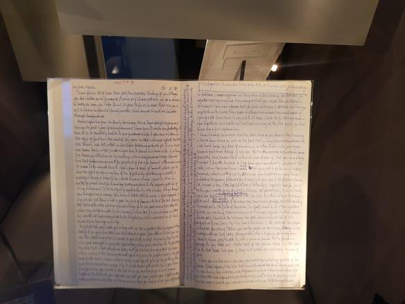 Book of letters Mandela kept on Robben Island