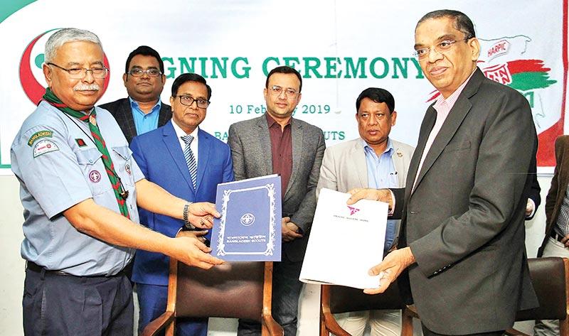 Reckitt Benckiser, Bangladesh Scouts join hands
