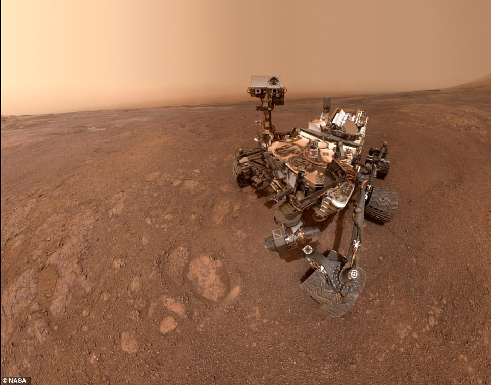 NASA's Curiosity rover has recently been scaling Mount Sharp, and three-mile-high mountain in the Gale Crater. It's instruments have detected that the mountain is less dense than originally thought, throwing up more questions about how it was formed