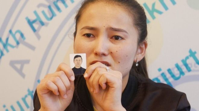 Aibota Serik says her father has disappeared into China's network of detention centres