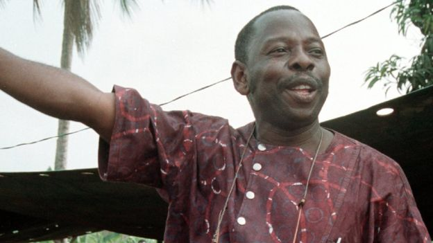 Ken Saro-Wiwa was the best known of the nine activists executed
