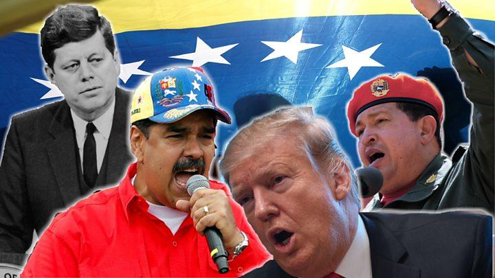 Venezuela crisis: Maduro condemns 'extremist' Trump