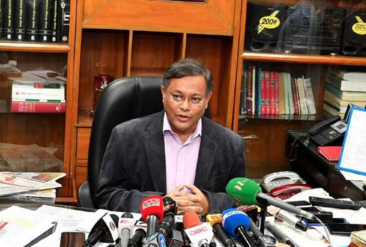 Khaleda Zia has 2 ways to get release: Info Minister