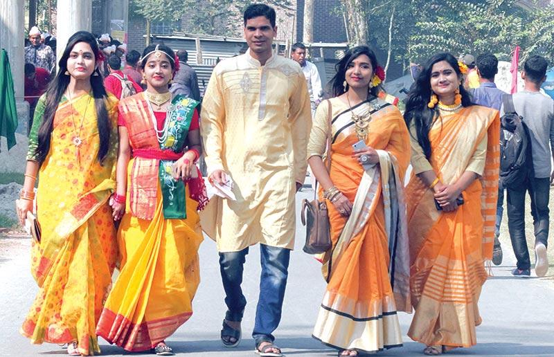 Youth get-together to celebrate Pahela Falgun at IU campus