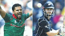 Bangladesh face New Zealand in crucial 2nd ODI today