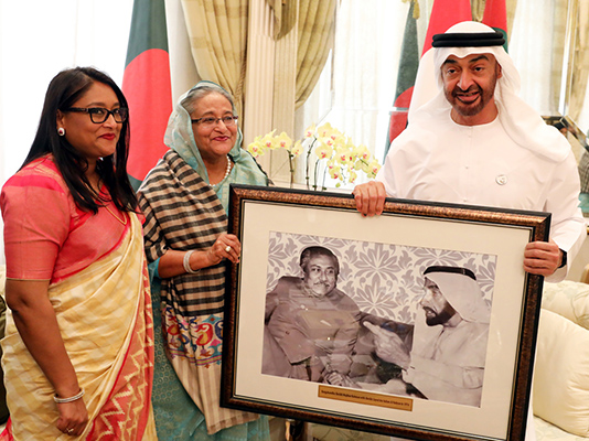 UAE assures PM of looking manpower issue positively