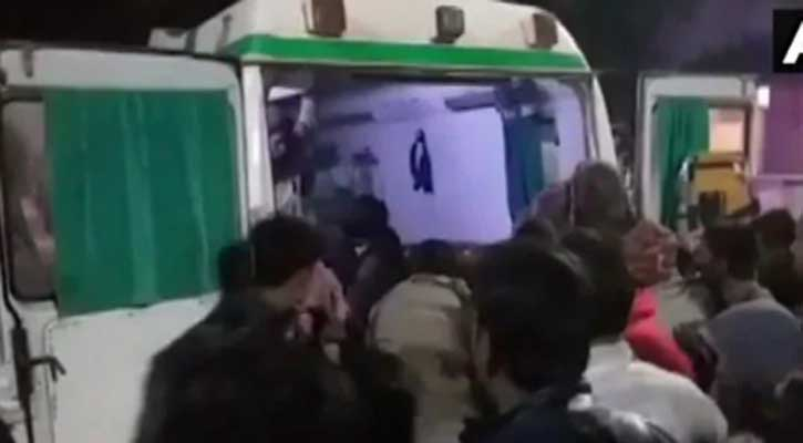 13 killed as truck runs into marriage party in Rajasthan