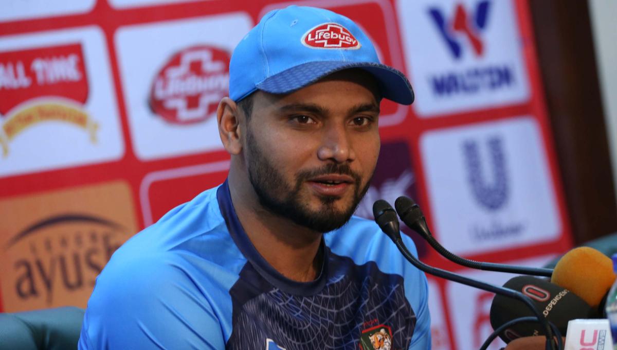Bangladesh need to end poor show ahead of WC: Mashrafe