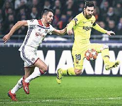 Barcelona draw blank in Lyon