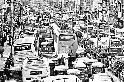 Traffic congestion in Dhaka should be reduced