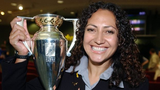 Melodie Robinson has won two rugby world cups