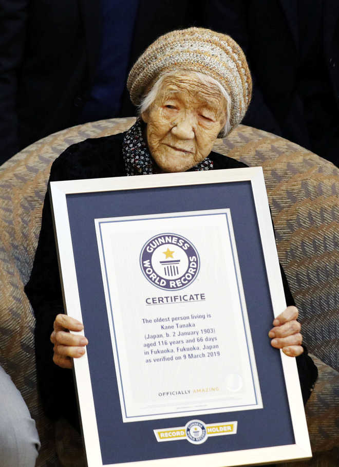 116-year-old woman named world's oldest living person