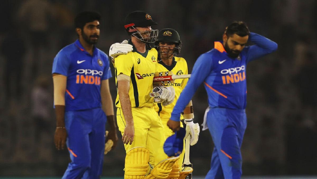 Australia beats India by 35 runs
