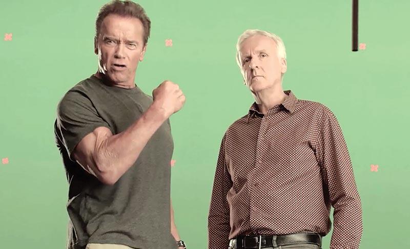 Arnold Schwarzenegger: James Cameron is with Terminator 6