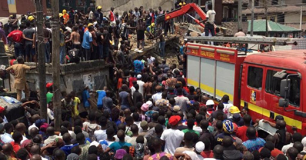 8 killed in Nigeria school collapse; dozens trapped