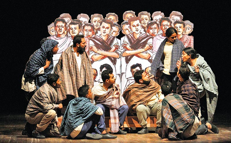 Spardha's first drama projects grim realities of 1971