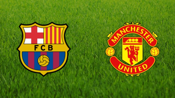 UCL draw: Barccelona face Manchester United