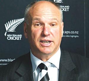 David White, CEO, NZ Cricket.