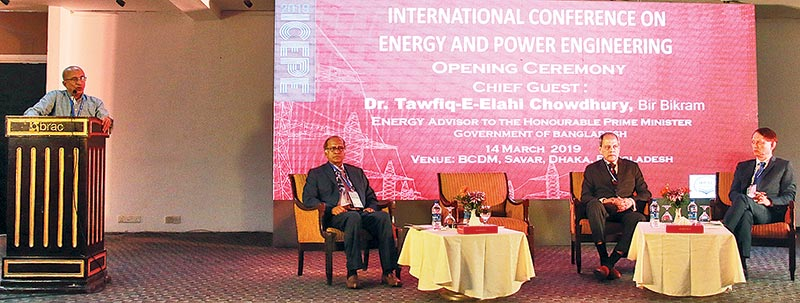Int'l conference on energy at BRACU