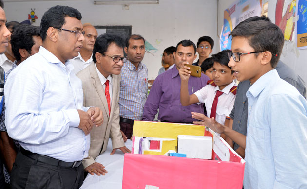 3-day science fair begins in Rajshahi