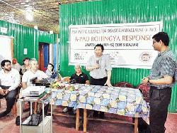 Host community and Rohingya Camp visit