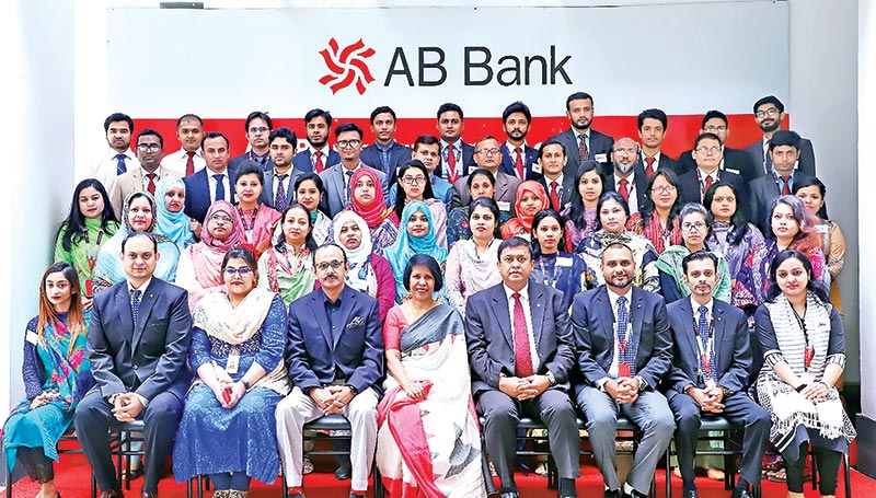 Training on 'Customer Service Excellence' at AB Bank Training Academy