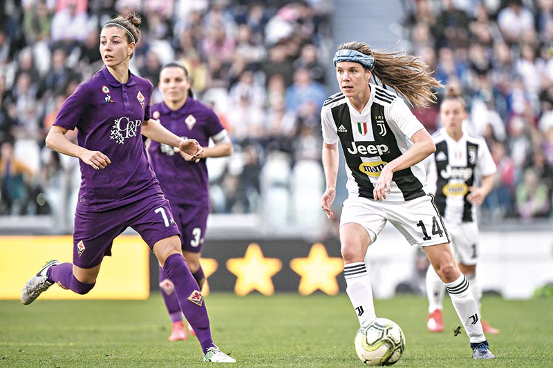 Pedersen Seals Win For Juve Women In Front Of Record Crowd Sports