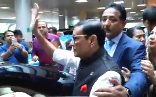 Obaidul Quader leaves hospital