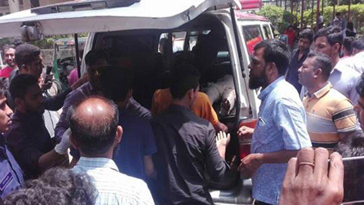 Female madrasha student burned by fellows in Feni