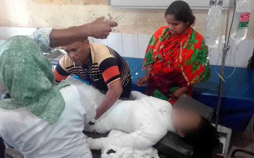 Burnt female madrasa student losses battle for life