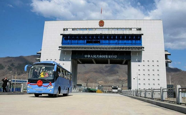 China and North Korea open new border crossing