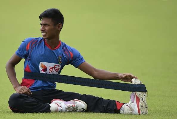 Ankle injury sidelined Mustafizur for two weeks