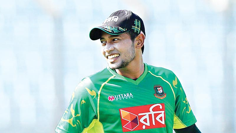 Mushfiqur Rahim bats after a long break