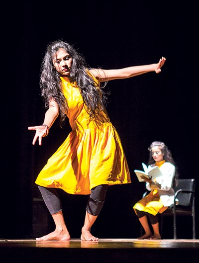An evening of contemporary dance held at BSA