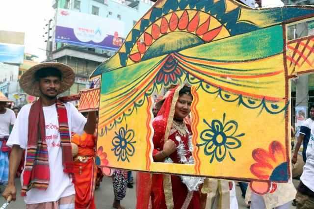 Nation celebrates Pahela Baishakh