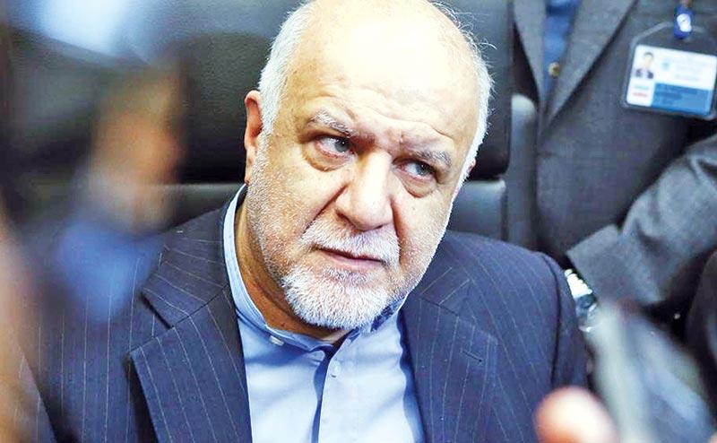 Iran�s Oil Minister Bijan Zanganeh.