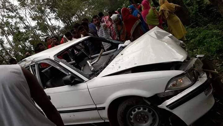Gopalganj road crash kills woman