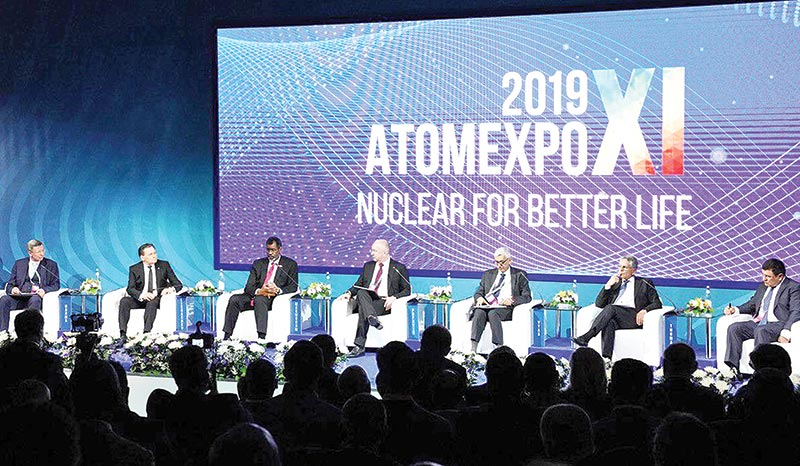 Atomexpo 2019 concluded in Russian city Sochi