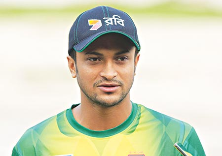 Shakib to join Tigers' World Cup preparation camp
