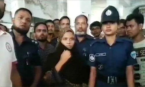 Nusrat's classmate Moni remanded